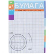 бумага маштабно координатная А3, А4 8